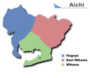 Aichi MustLoveJapan Video Travel Guide - Japan map aichi
