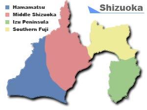 japan map prefecture: