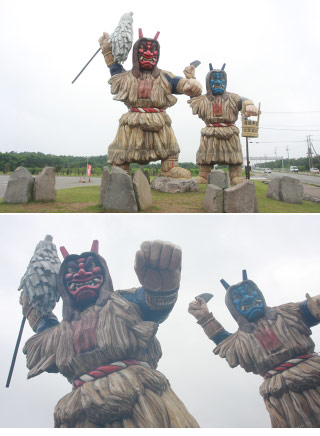 The Statues of Namahage