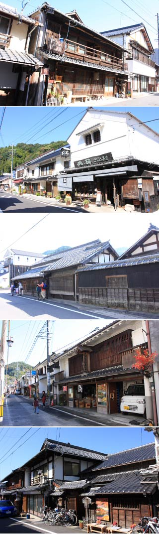The traditional town of Asuke