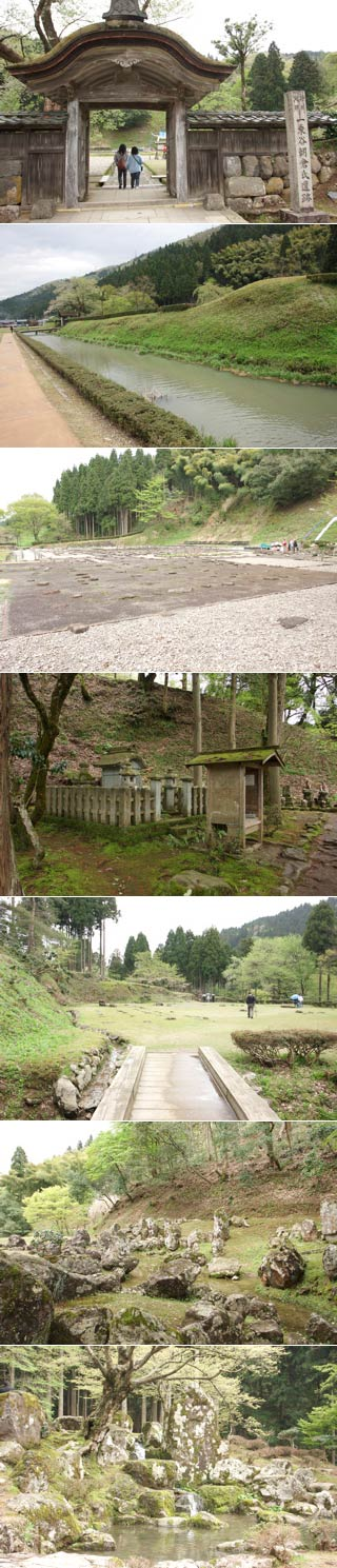 The ruins of Ichijodani Asakura Clan