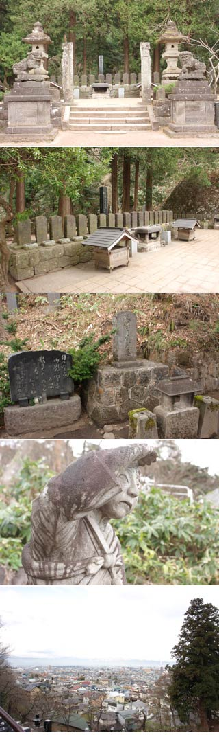 The graves of Byakko-tai