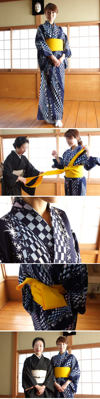 How to wear Yukata