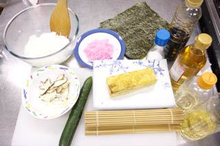 How to cook Futomaki Sushi Roll