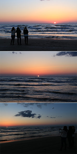 Sunset of the Sea of Japan