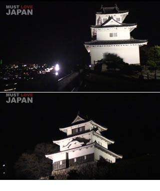 Marugame Castle Lightten-up