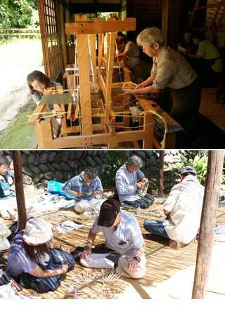 Folk crafts Demonstration