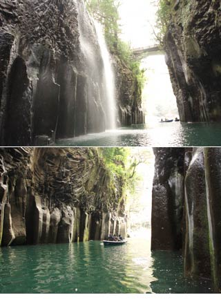 Takachiho boat riding