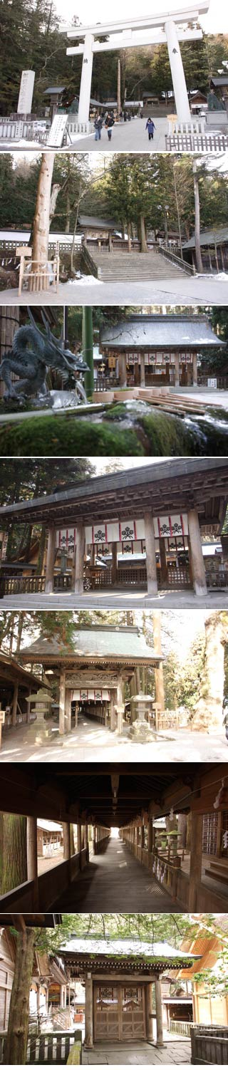 Suwa Grand Shrine Honmiya
