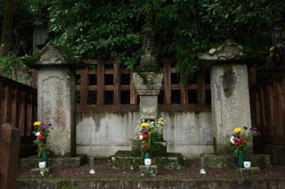 The grave of Kiso Yoshinaka