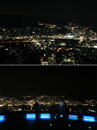 The Night View of Mt.Inasa