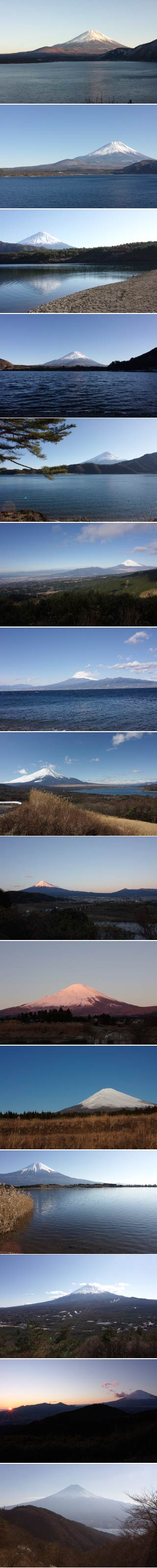 360 degrees view of Mt. Fuji