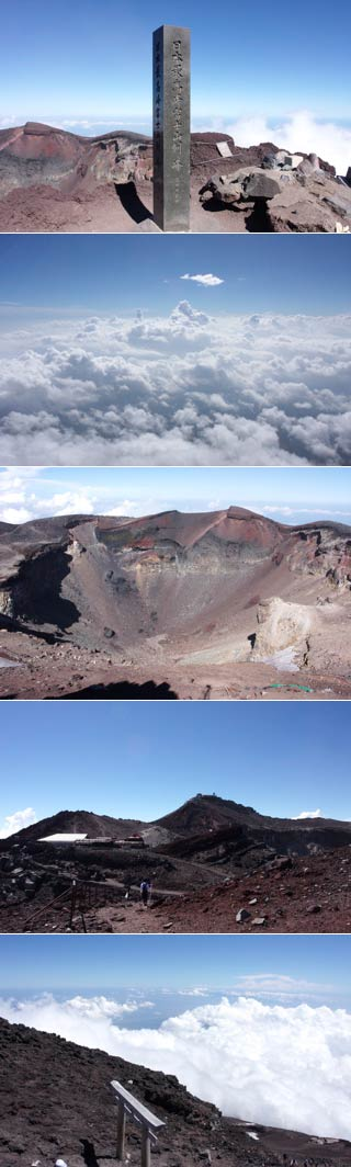 The Summit of Mt.Fuji