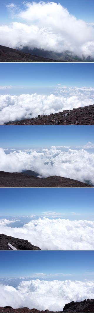 Fujinomiya side of Mt. Fuji