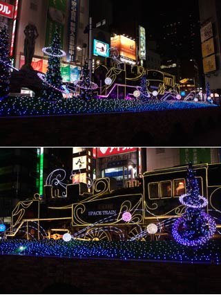 Shinbashi Christmas Illumination