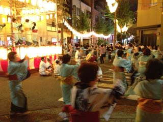 Ushijima Shrine Bon Odori Ishi 3