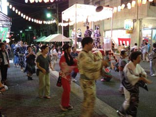 Ushijima Shrine Bon Odori Honjo 3