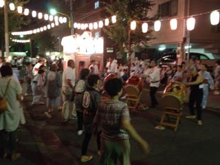 Ushijima Shrine Bon Odori Ishi 1