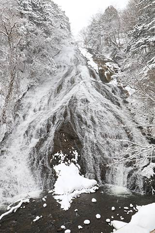 Winter Yutaki Falls
