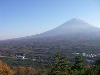 Mt Fuji from Koyodai